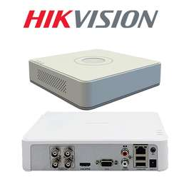 Dvr De 4 Canales Hikivision Turbo Hd Ds-7104hghi-f1
