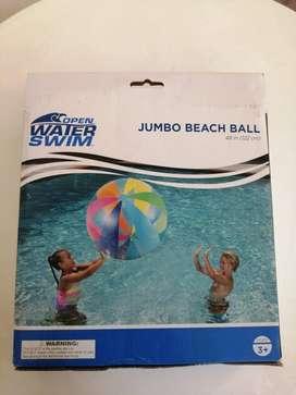 Balón Jumbo Para Playa O Piscina Marca Water Swim Americano