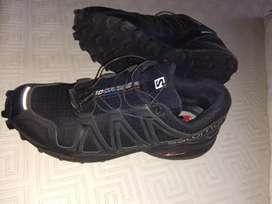 Zapatillas Salomon usada,muy poco uso