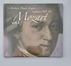 CD Mozart Bodas de Figaro,  sinfonía 40 y 41
