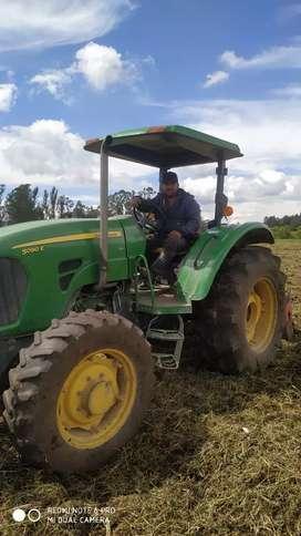Busco trabajo en finca de mayordomo o tractorista se de todo lo relacionado con fincas
