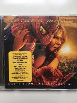 Spiderman 2 banda sonora cd