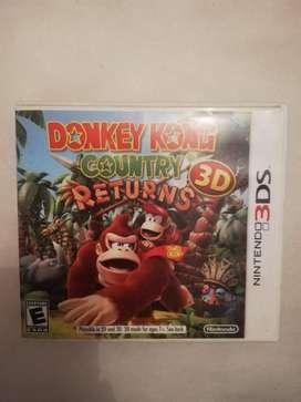 Juego 3ds Donkey Kong