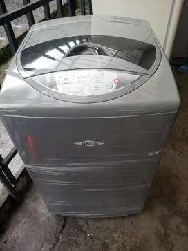 Lavadora haceb gris 18 libras