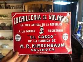 Antiguo Cartel Publicitario El Casco
