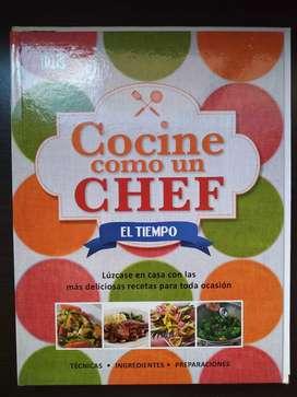 Cocina como un chef: libro de las colecciones de El Tiempo