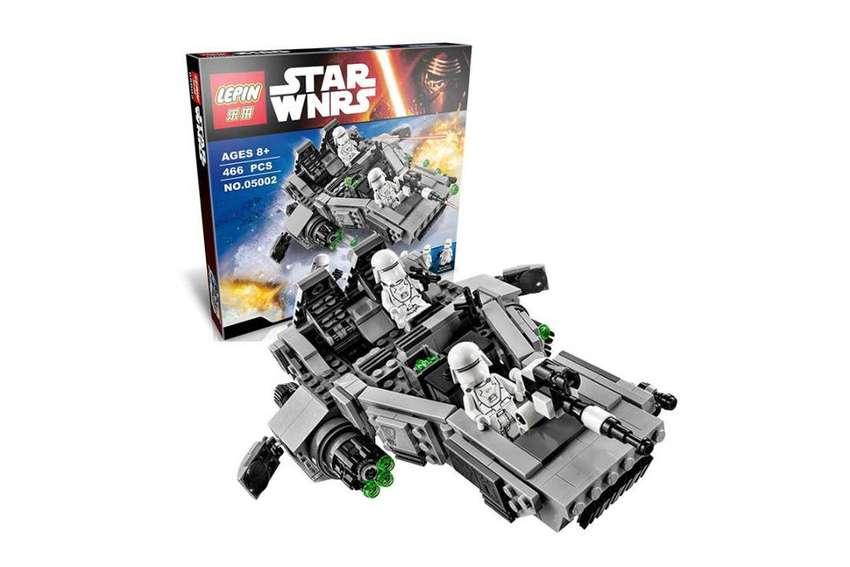 Juguete en bloques para armar Star Wars 0