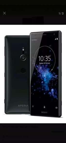 Sony xperia XZ2  color negro 64GB