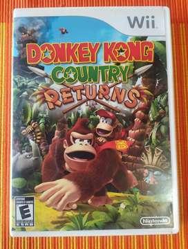 Juego wii Donkey Kong original