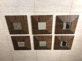 espejos enchapados