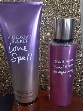 Splash y crema victoria secret