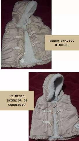 Chaleco inflado de bb mimo&co
