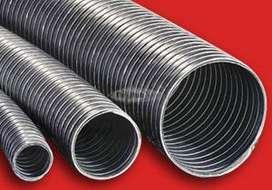 Caño Corrugado 125 Mm de Aluminio