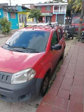 Fiat uno modeló 2012