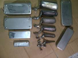 especulos de metal y cajas de acero inox