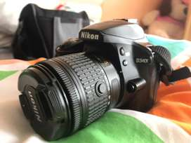 Nikon D3400 camara reflex