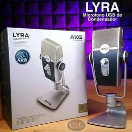 MICRÓFONO USB MILTIMODO ULTRA-HD AKG LYRA C44-USB