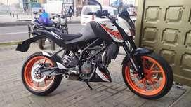 Motocicleta en perfecto estado