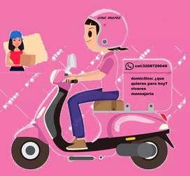 Ofrezco servicio de mensajeria puerta a puerta en moto
