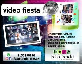 CUMPLE EN CASA!! VIDEOFIESTA !!