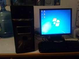 Computadora a 349 soles consu tarjeta de vídeo y placa Intel 4 socalos , monitor 19 pulgadas , 2gb de  9#1#6*8*6*7*3*8*8
