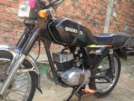 Se vende moto traxx ax100 caida en matricula