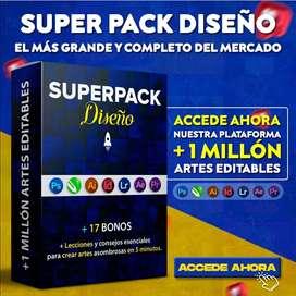 Super Pack Diseño Gráfico