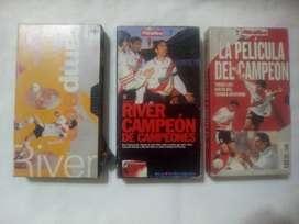 3 VHS- RIVER