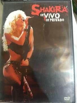 Shakira en vivo y en privado