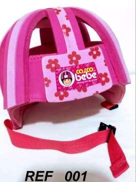 Casco Protector para Bebé Color Rosado