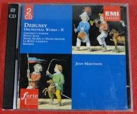 DEBUSSY ORCHESTRAL WORKS II 2 CDS en LA CUMBRE PUNILLA