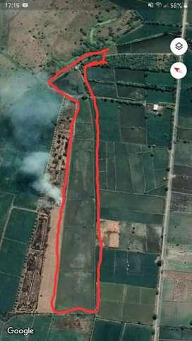 Terreno de 5 cuadras ubicado en Manabi