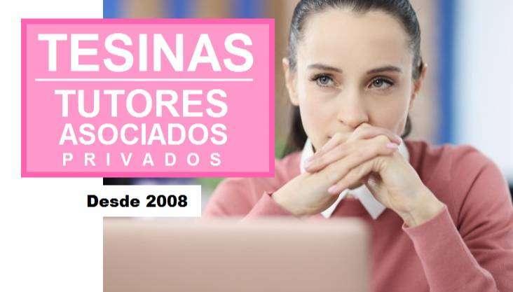 ASESORÍA DE TESIS Y TESINAS. 0