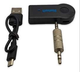 Bluetooth Por Auxiliar 3.5 Para Carro Equipo De Sonido