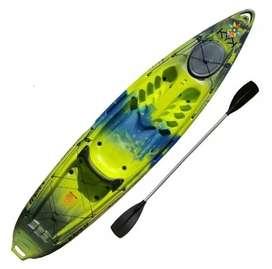 Kayak Atlantikayak's karku con respaldo y remo