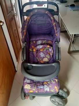 Coche para bebé niña