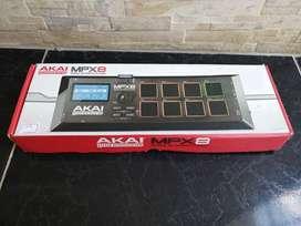Controlador Akai MPX8 Mobile SD Sample Pad nuevo