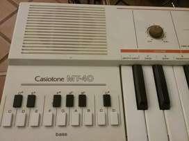Teclado Casio casiotone mt 40 1980 excelente estado en Martinez