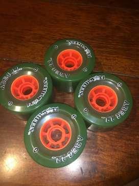 4 ruedas ABCE 11 Flywheels nuevas! Vendo o permuto por algo.