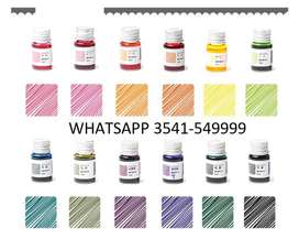 Pigmento Concentrado Para Resina Epoxi Bicapa Poliuretano