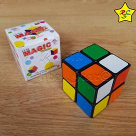 Cubo Rubik 2x2 Magic Cube Super Económico  - Negro