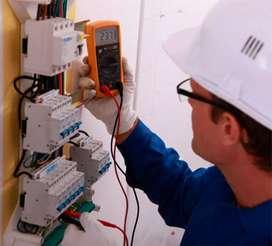 Electricista domiciliario e industrial