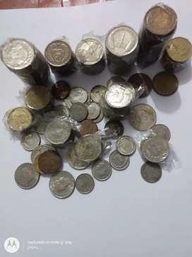 Vendo lote de monedas antiguas para colección