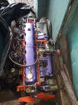 Vendo motor con caja original de jeep cj6