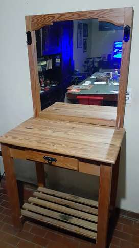 Dresuar de Pinotea Nuevo EXCELENTE! Mueble espejo living dormitorio