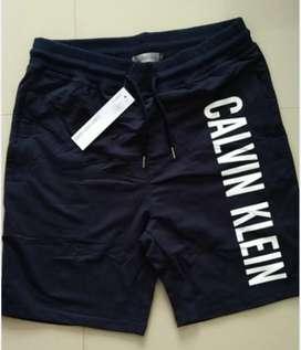 Pantaloneta Calvin Importada Algodón y cremalleras