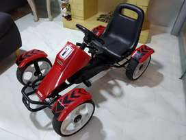 Carro montable para niños go Kart silverstone prinsel