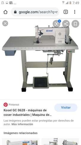 Operarias máquinas industriales