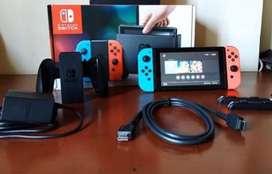 Nintendo switch neon perfecto estado