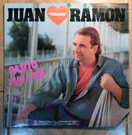 disco vinilo Juan ramon corazon pasito tun tun